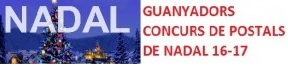 CONCURS DE POSTALS DE NADAL: GUANYADORS
