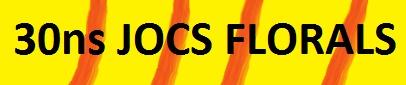 30ns JOCS FLORALS-SANT JORDI 2017
