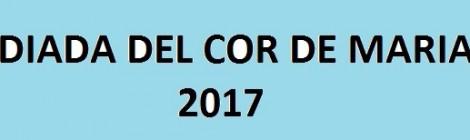 FESTA DEL COR DE MARIA 2017