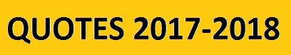 QUOTES PEL CURS 2017-2018