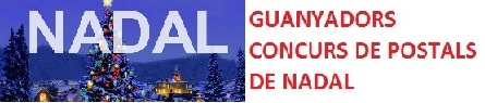 GUANYADORS DEL CONCURS DE POSTALS DE NADAL 17-18